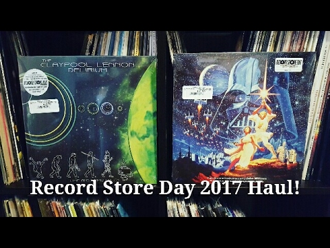 Record Store Day 2017 Haul Unboxing!