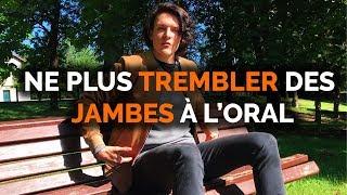 JAMBES QUI TREMBLENT À CAUSE DU STRESS SOLUTIONS