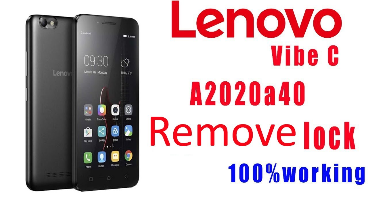 How to hard reset Lenovo A2020a40 Lenovo Vibe C pattern and password forget  solution