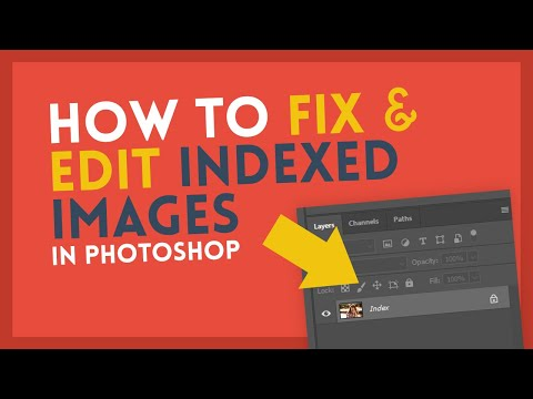 Fix & Edit Indexed Images | Photoshop Tutorial thumbnail