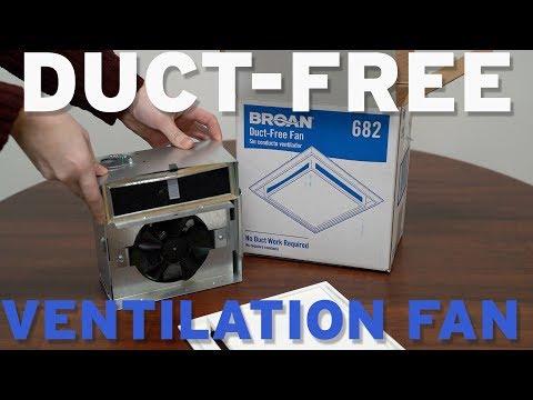 broan nutone 682 duct free ventilation