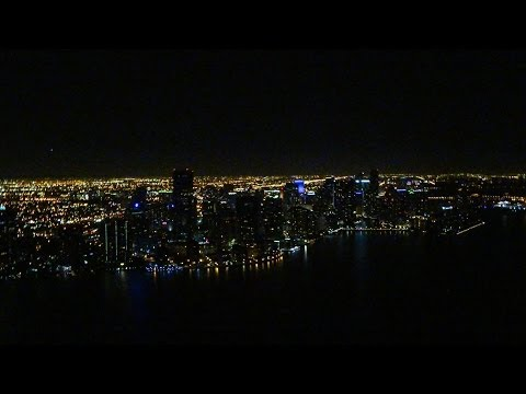 Helicopter Night Flight Miami