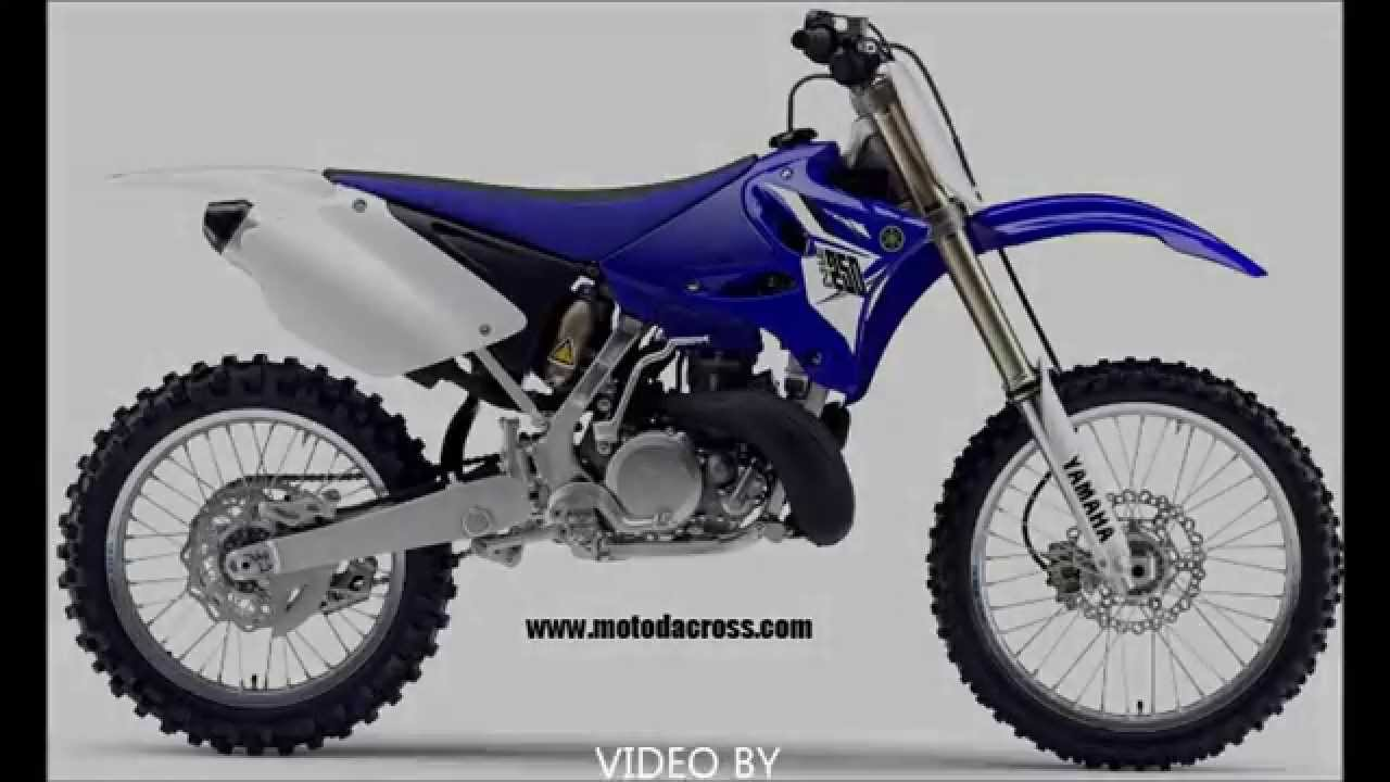 Evolution of Yamaha YZ-250 from 1972 to 2014. - YouTube