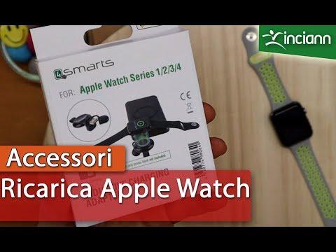 Inductive Adapter: Un modo super pratico per ricaricare Apple Watch 1/2/3/4 in movimento o viaggio