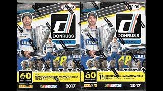 2017 Donruss Racing 2 Blaster Box Break / 2 Hits
