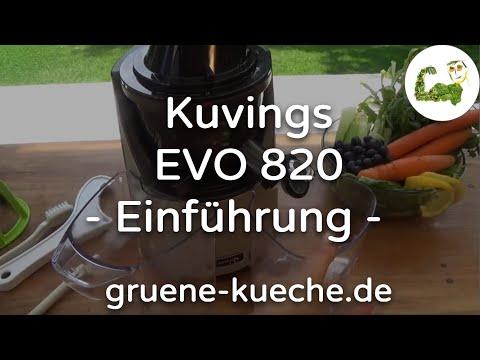 Kuvings EVO 820 Teil 1 - Vorstellung und Zusammenbau des Entsafters