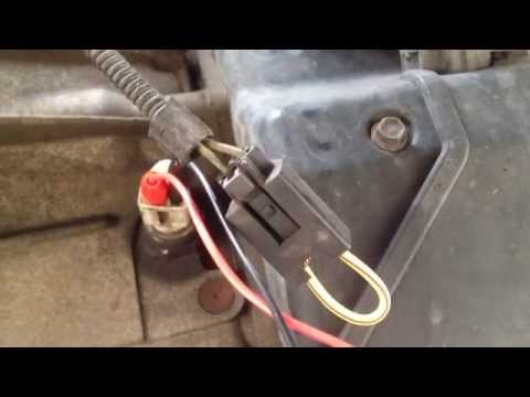 How to test a cars reverse light switch without any tools or a meter - EASY
