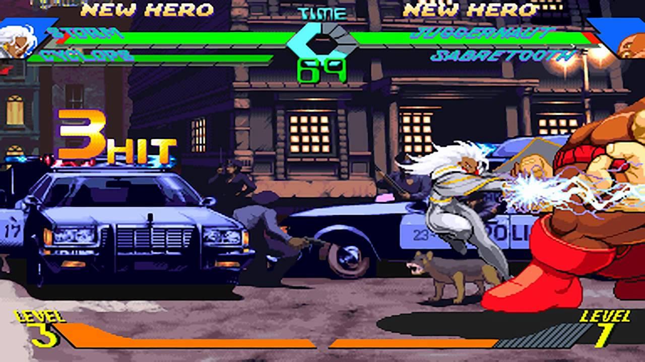 X Men Vs Street Fighter Tfg Review Artwork Gallery