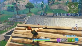 """Fortnite 261 meter snipe"""" longest snipe"""" ( personal best ), look at the kill feed at the beginning"""