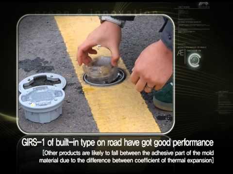 Gni Led Solar Road Marker Solar Cats Eyes Youtube