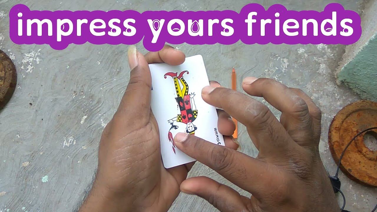 easy card tricks you can learn at home  cards tricks