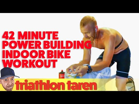 42-Minute Power Building Indoor Bike Trainer Workout