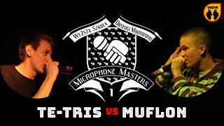 bitwa MUFLON vs TE-TRIS # Microphone Masters # freestyle battle