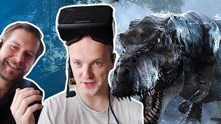 Cryteks Dino-Demo - Die VR-Erfahrung »Back to Dinosaur Island« ausprobiert