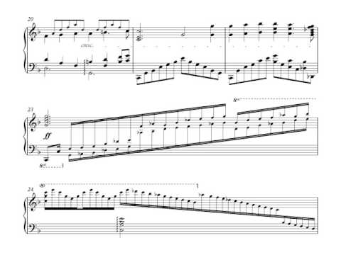 Brian Crain - Butterfly Waltz (libestraum, JYLee arr. with score)