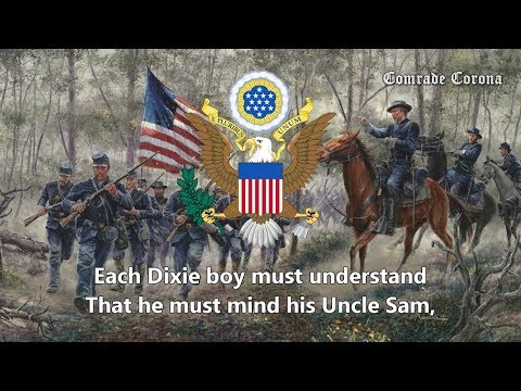 """Dixie"" (Union Version) - Union Civil War Song"