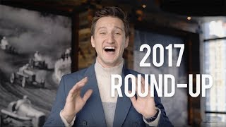 2017 RECAP: WHAT YOU CAN EXPECT NEXT YEAR
