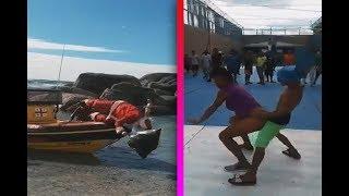 Videos virales de facebook 2018 | SANTA CLAUS 🎅🏽 SE CAE AL AGUA | Niño Perreando a una Mujer..!!