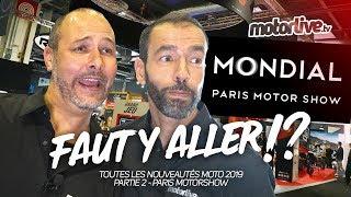 NOUVEAUTÉS MOTO 2019 - 2/3 - PARIS MOTOR SHOW 2018 - SALON & CO