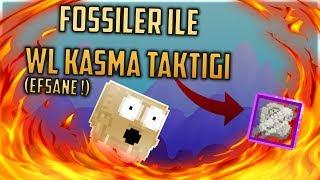 FOSSİL İLE WL KASMA TAKTİĞİ [ EFSANE ! ] - GrowTopia
