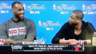 What LeBron Was Thinking From Dumb Reporter's Question