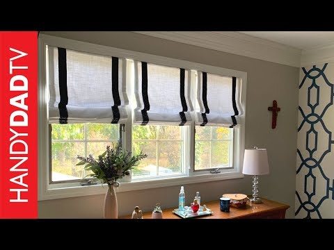 How to install Roman Shades | Master Bedroom Makeover (Part 5)