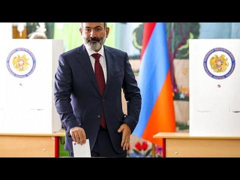 Никол Пашинян выиграл  выборы в Армении