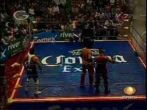 AAA: La Parka, Jack Evans, Octagón vs. Electroshock, Kenzo Suzuki, Teddy Hart, 2009/06/07