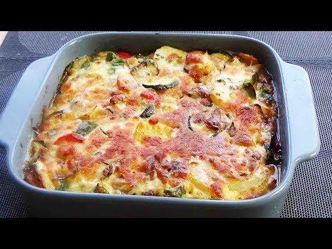 gratin-de-poulet-aux-légumes-facile-et-rapide