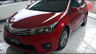 Toyota All New Corolla Altis 2015 Review Exterior and Interior