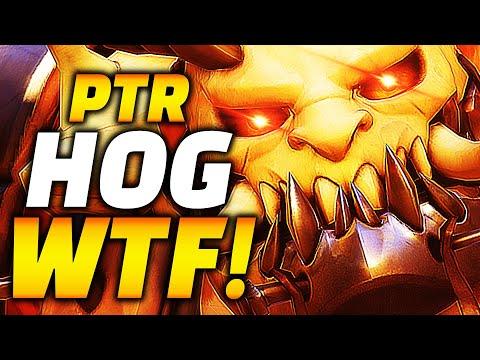PTR Roadhog Is INSANE! Overwatch New Tank Meta INCOMING!