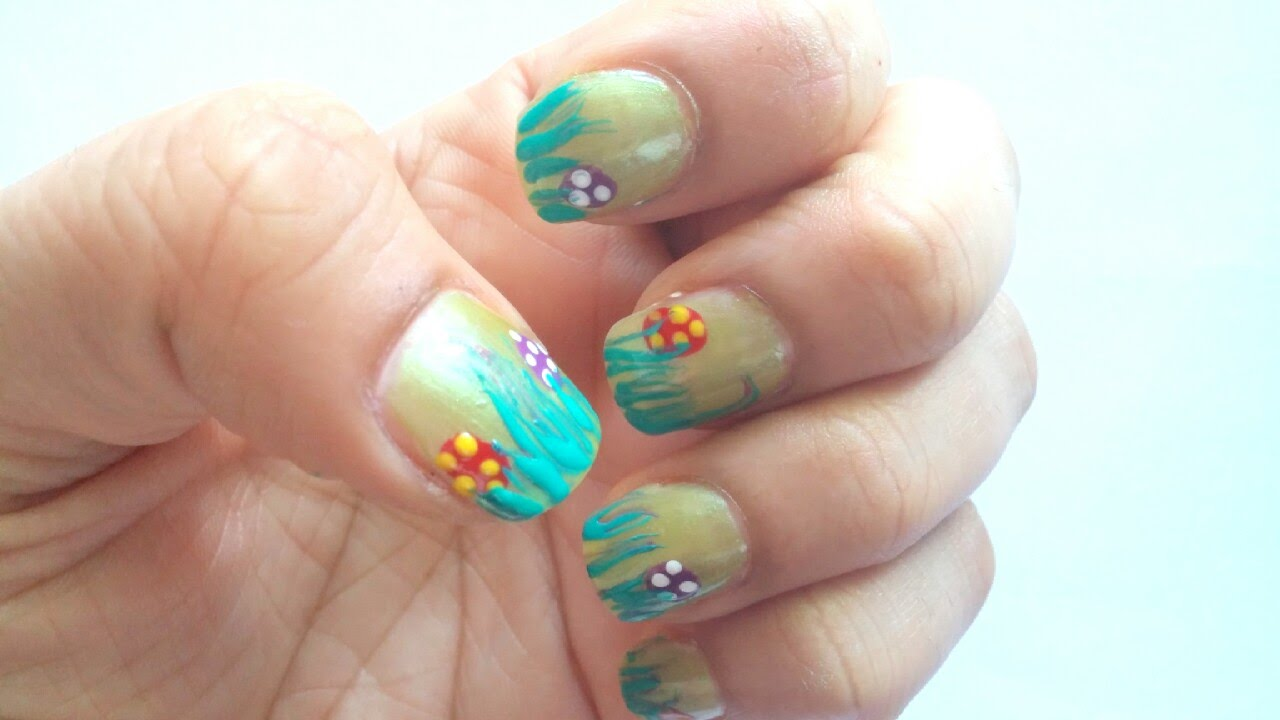 Easter Egg Nail Art Design - YouTube