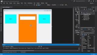 كيفية إنشاء شكل استجابة في Visual Basic