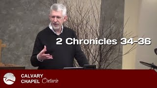 2 Chronicles 34-36 King Josiah and the Fall of Jerusalem