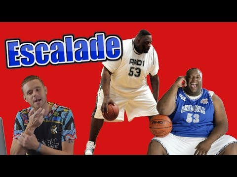 "The Professor reacts to Escalade | 450lb 6'9"" Streetball Legend And1(Ex teammate)"