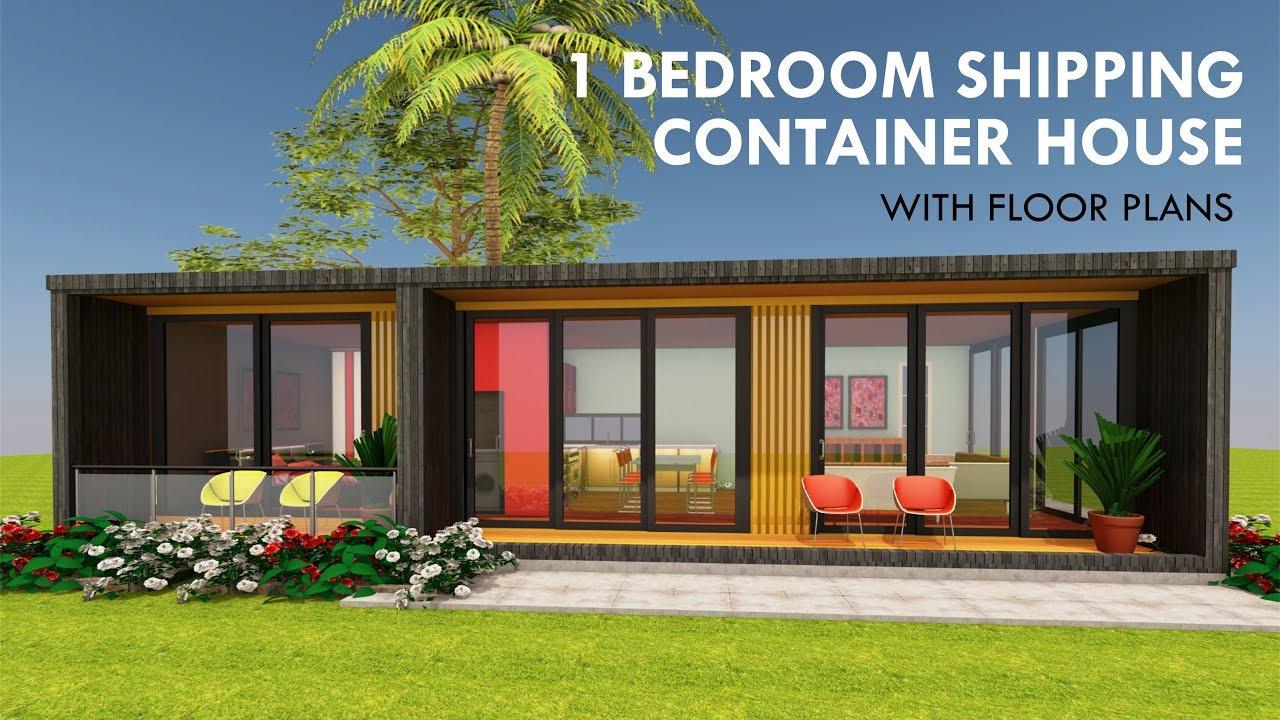 Modular Shipping Container 1 Bedroom Prefab Home Design