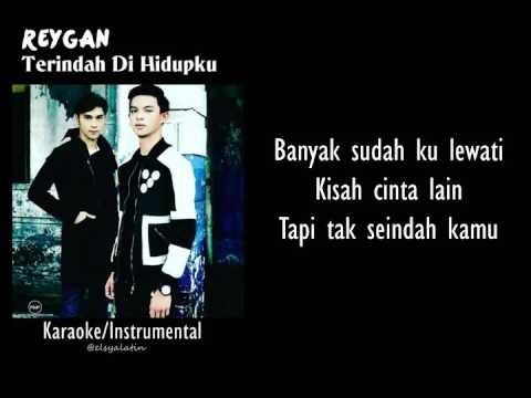 Reygan - Terindah Di Hidupku [Karaoke Lyrics] ONLY ON PC