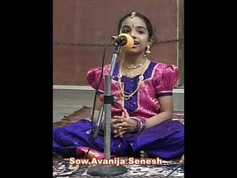 "' Desika Vandanam ""  by Bala Desikas ;Intro by Smt.Prabha Senesh and Upanyassam Sow.Avanija"