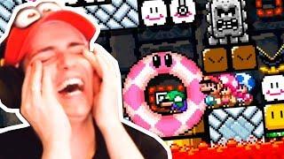 NUNCA JUEGUES SUPER EXPERTO en COOPERATIVO   Super Mario Maker 2 Multijugador