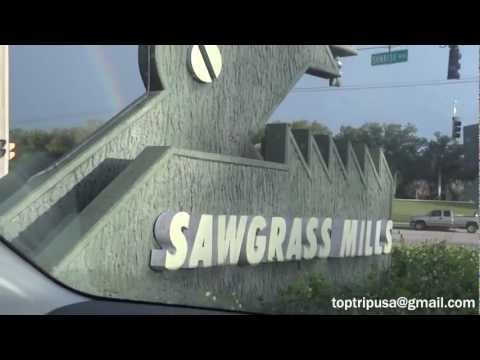 Sawgrass Mills Stores HD - Sunrise Florida Fort Lauderdale Outlet - Lojas Miami Compras