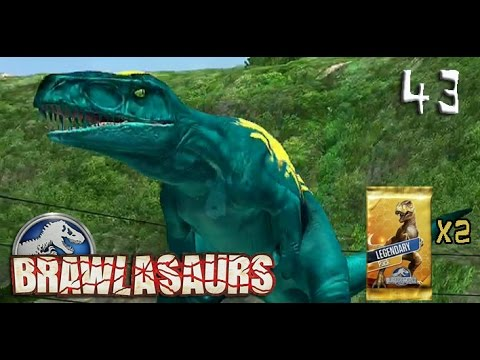 Legendary Brawlasaurs! | Jurassic World: The Game [Episode 43]