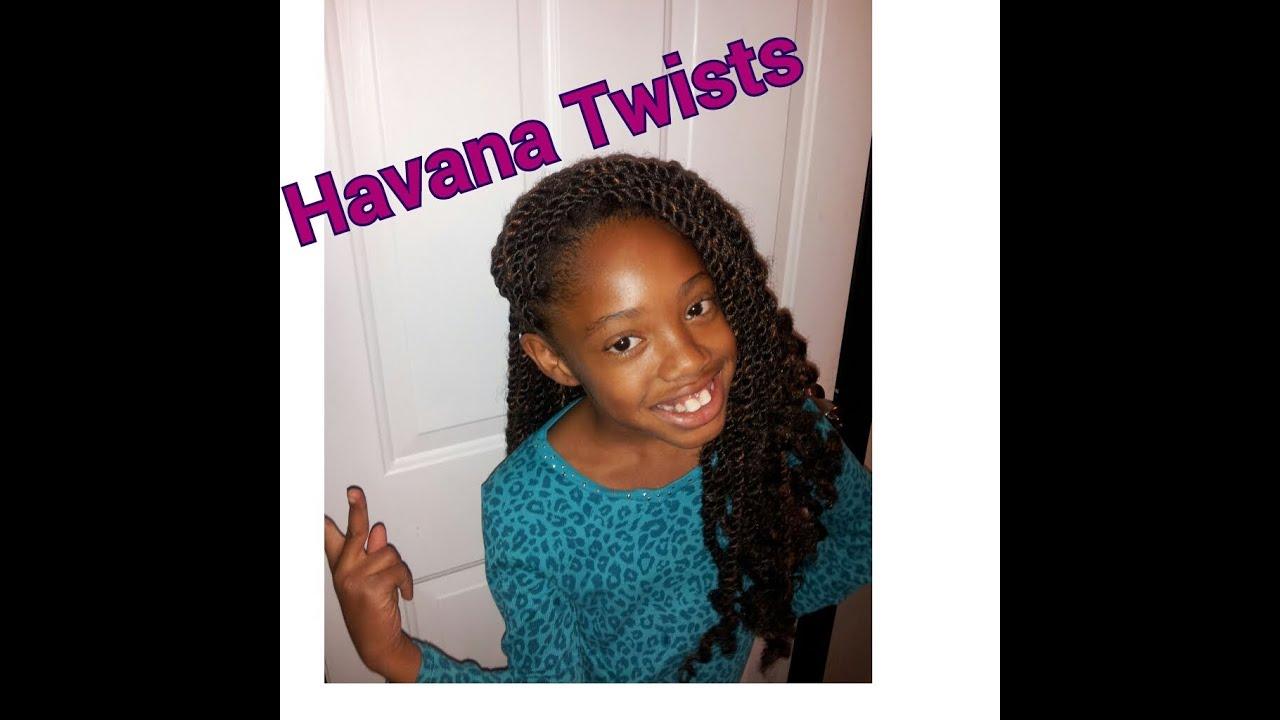 Havana Twists Done On Natural Hair Youtube