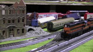 Episode 6: Railroad with New HO Scale Locomotive Bessemer from USA  & Lake Erie