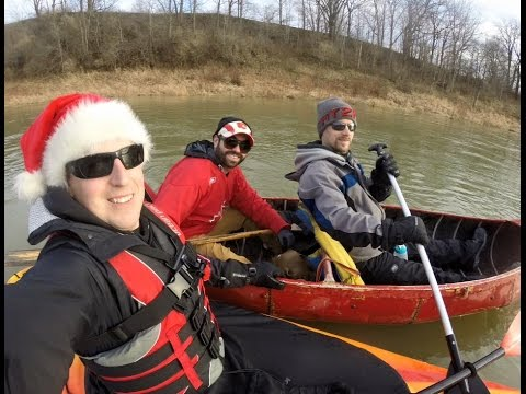 2015 Christmas Eve on the Thames River