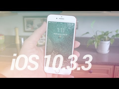 iOS 10.3.3 Update: What's New?