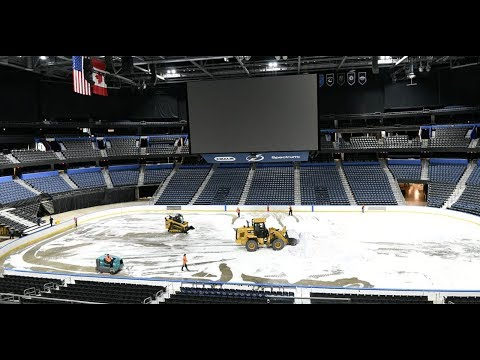DJ Jaime Ferreira aka Dirty Elbows - WATCH: Tampa Bay Lightning Remove The Ice Inside The Amalie For The Year :/