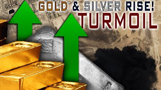 Global Turmoil Drives Gold & ESPECIALLY Silver UP!!