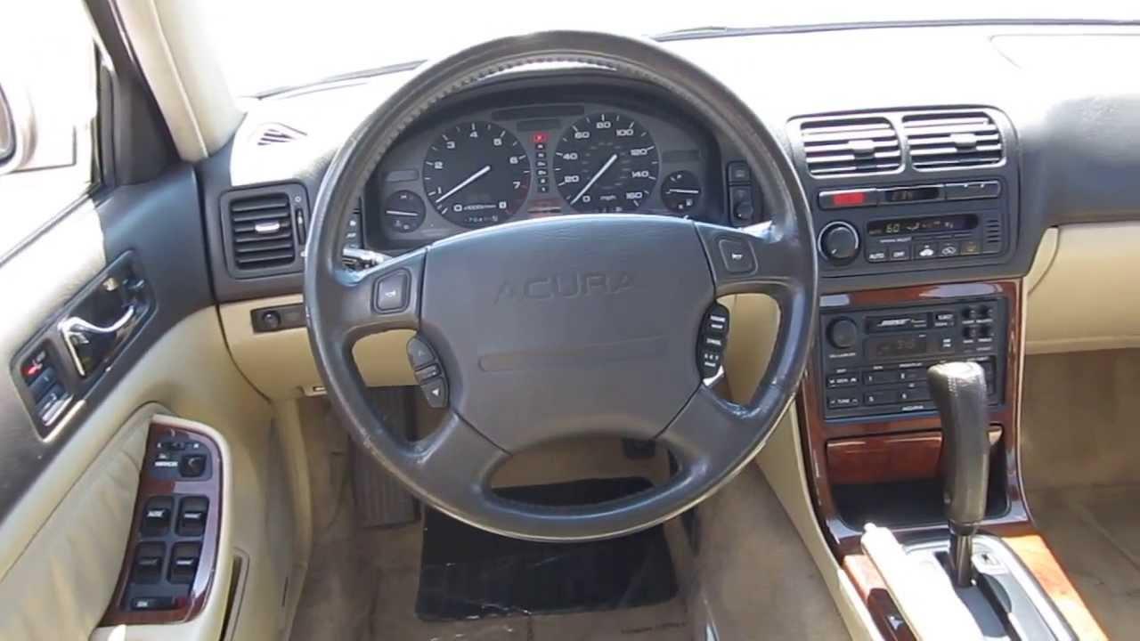 1995 acura legend beige stock 6043b interior