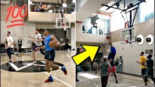 Russell Westbrook Vs. Hoodie Melo, James Harden & Chris Paul In Pick Up Game In NEW YORK CITY