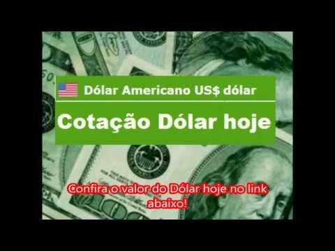 Cotação do DÓLAR Americano HOJE 03/04/2014